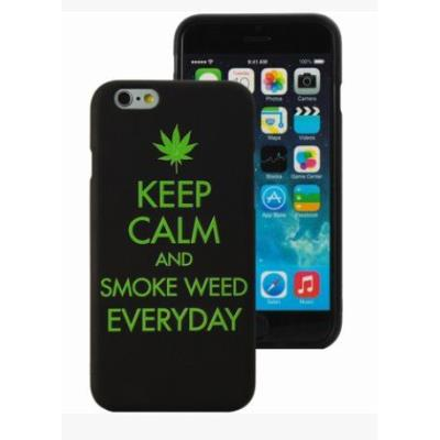 Coque weed iphone 6 6s mocca