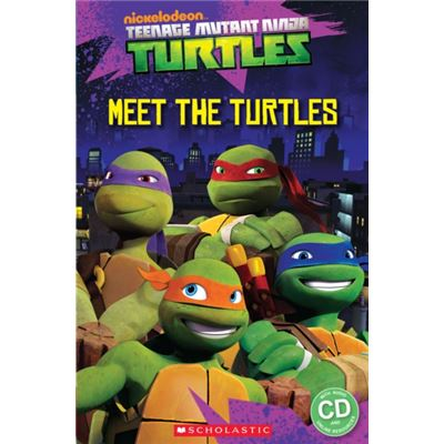 Teenage Mutant Ninja Turtles: Meet The Turtles! (Popcorn Starter Readers) (Paperback)