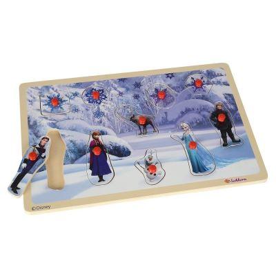 Puzzle en bois La reine des neiges 10 Pièces - Puzzle 2 ans et +