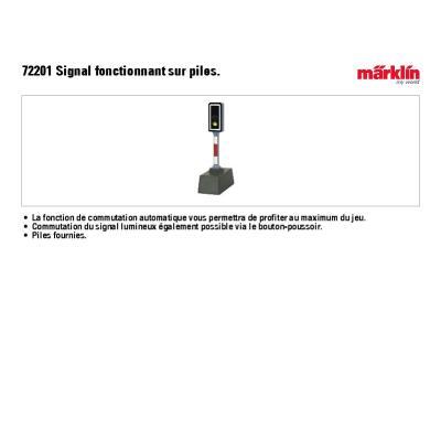 Signal férroviaire marklin 72201