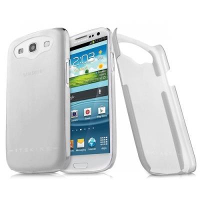 SAMSUNG Galaxy S3 i9300 > Coque rigide Ghost Blanche translucide d ...