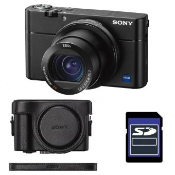 Sony Compact Expert Dsc Rx100 V Noir Etui Sd 4 Go