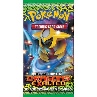 Pokemon Company International - Pokemon JCC - 1 Booster N&B : Dragons Exaltés