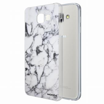 Coque Samsung A3 2016 motif marbre blanc