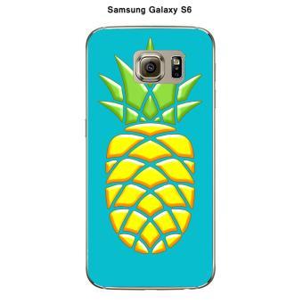 coque galaxy s6 ananas