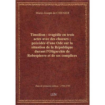 Procès-verbaux de l'inauguration du buste de Lepelletier et des séances publiques des autorités cons