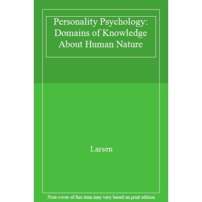 Personality Psychology: Domains of Knowledge About Human Nature - [Livre en VO]