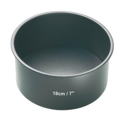 Master class non-stick loose base deep cake pan- round 18 cm