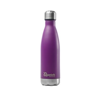 Bouteille Isotherme Violette 500ml Qwetsch