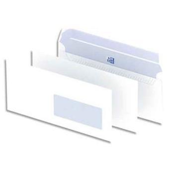 Boîte De 500 Enveloppes Blanches Auto Adhésives 90g Format C5