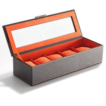 énorme réduction 4207b 970eb Boite Coffret de rangement montres - Pour 5 montres - Simili ...