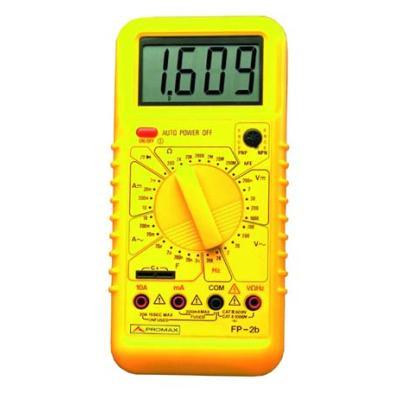 Multimetre Numerique Fp2b Promax Achat Prix Fnac