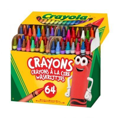 Crayola crayons de cire 64 pièces