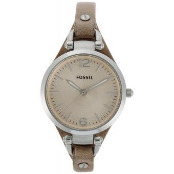 montre fossil femme bracelet cuir