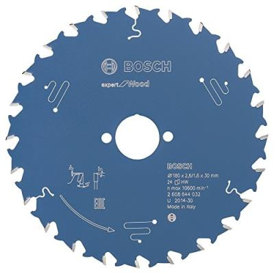 Bosch 2608644032 Lame De Scie Circulaire Expert For Wood 180 X 30 X 2,6 Mm 24