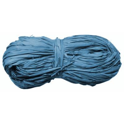 Pelote de raphia bleu 50 grammes