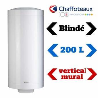 chauffe eau blind 200 litres mural chaffoteaux chauffe eau lectrique top prix fnac. Black Bedroom Furniture Sets. Home Design Ideas