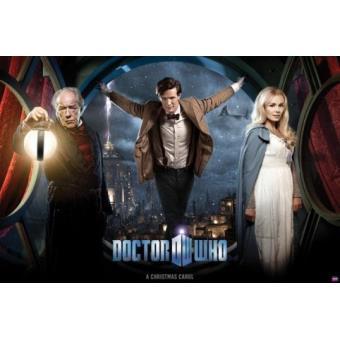Doctor Who Poster - A Christmas Carol, Spécial Noël (61x91 cm), Poster/affiche enroulé, Top Prix ...