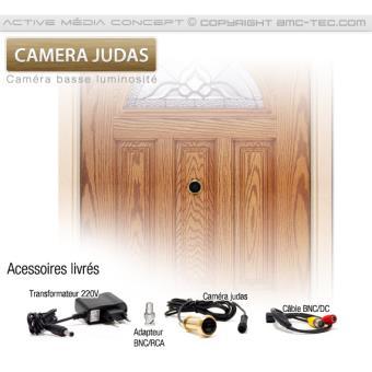 Micro Caméra Couleur Judas Pour Porte Du0027entrée   Achat U0026 Prix   Fnac