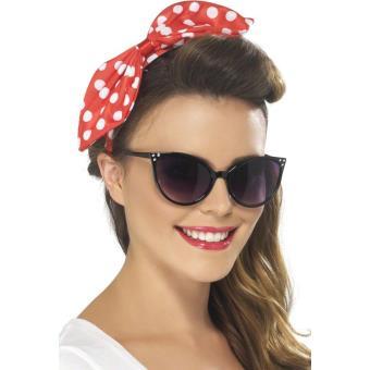 lunettes ann es 50 femme d guisement adulte achat prix fnac. Black Bedroom Furniture Sets. Home Design Ideas