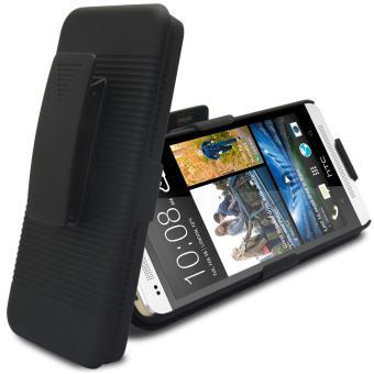 4fd4450292c Caseink - Coque Housse Etui Ceinture HTC One M7 Noire - Etui pour téléphone  mobile - Achat   prix
