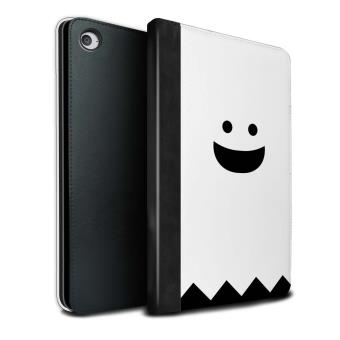 Stuff4 Coque Housse De Livre Cuir Pu Case Pour Apple Ipad Mini 4 Tablette Fantome Design Personnage Halloween Collection