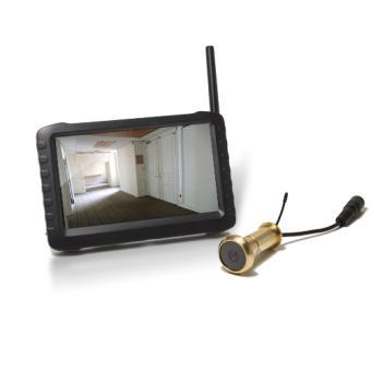 Kit Caméra Judas Sans Fil Récepteur LCD Couleur Achat Prix - Juda porte