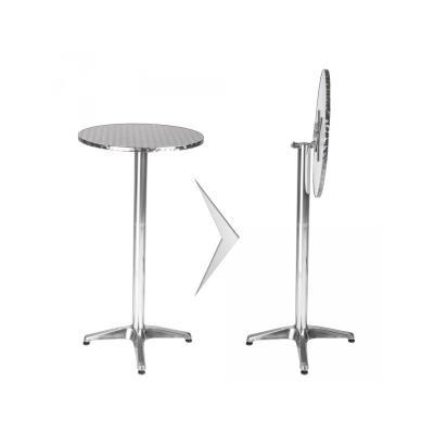 Réglable Bar Pliable Et De Table Haute Aluminium Tube Hauteur ny80wmPvNO