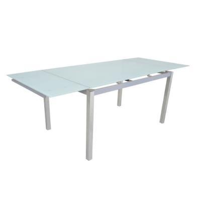 Max PrixFnac Achatamp; Blanc ChromeVerre Table 140220 Extensible fvI6y7Ybg