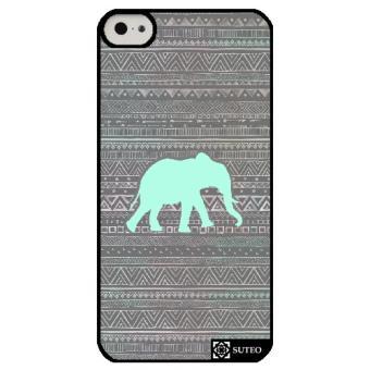 Coque Iphone 5c Elephant Vert ref 716
