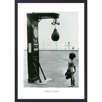 Poster Reproduction Encadre Photographie Bizarre Enfant Avec