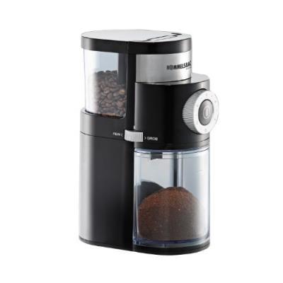 Rommelsbacher - ekm 200 - moulin à café électrique à meules, 110 watts, noir
