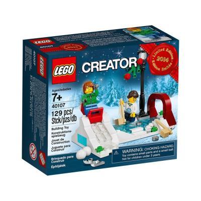 Lego Creator 40107 Le Patinage En Hiver