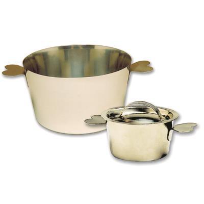 Acier Inoxydable Casserole égouttoir Pâtes Passoire Passoire Tamis Fit 10 in pot UK environ 25.40 cm