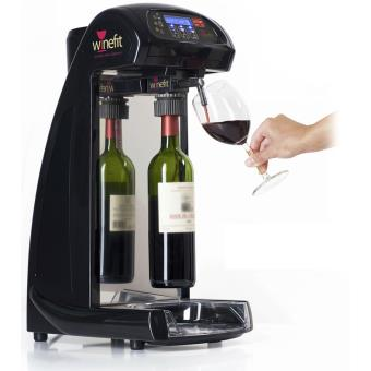winefit distributeur de vin au verre pour bouteilles de 75cl et magnums 4 bouchons 2. Black Bedroom Furniture Sets. Home Design Ideas