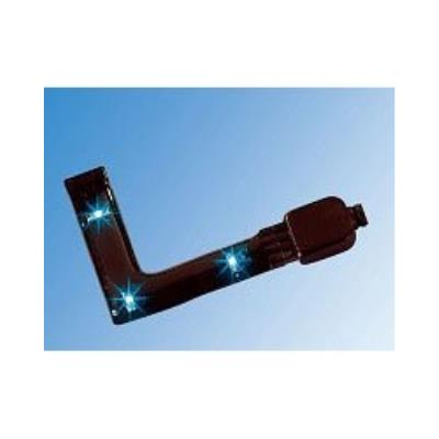 Angle pour module LED SMD - bleu