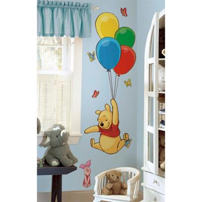 Grands stickers Winnie l'Ourson & Porcinet Disney