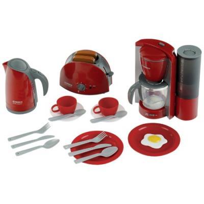 Klein - 9564 - jeu d'imitation - set petit-déjeuner bosch, grand modèle