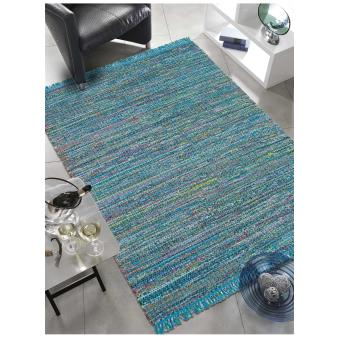 Tapis colore a franges PLAYA Tapis Moderne par Brink and Campman 140 ...