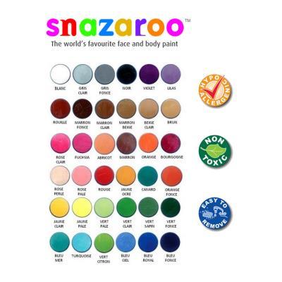 Maquillage classic Snazaroo pot de 18 ml Rouille