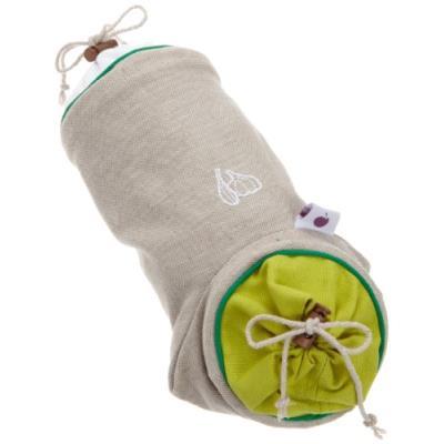 MASTRAD - Sac de conservation à légumes :AIL,en coton *