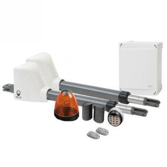 scs sentinel kit de motorisation pour portail battant a v rins 3mx200kg access 1 comfort
