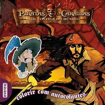 PIRATAS DAS CARAIBAS 3 COLORIR COM