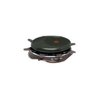 Appareil à raclette Tefal RE516012 Simply Invents 1050 W Noir Cerise