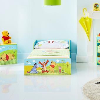 Lit enfant bois et métal Winnie l\'Ourson Disney - Chambres enfant ...