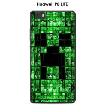coque minecraft huawei