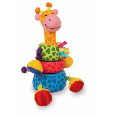 Peluche de la girafe à emboîter Gigi