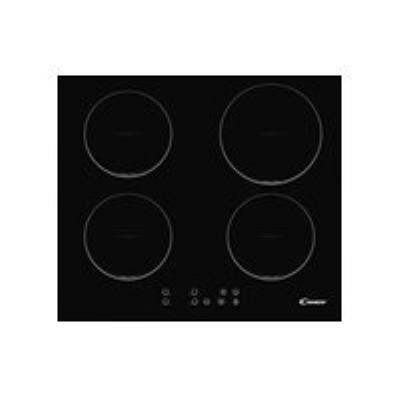 Candy CI 640 C - Table de cuisson à induction - 4 plaques de cuisson - Niche - largeur : 56 cm - profondeur : 49 cm - noir