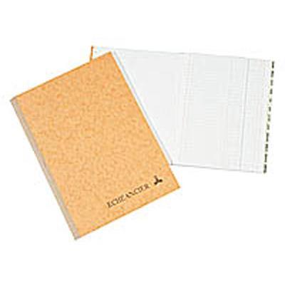 Corrigé folioté, format 21 x 29,7 cm, 200 pages, quadrillé 5 x 5. Coloris assortis