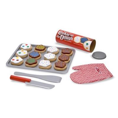 Melissa & doug - 4074 - jeu d'imitation - jeu en bois pour trancher et faire cuire des biscuits